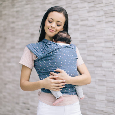 Picture of Ergobaby® Aura Baby Wrap - Coral Dot
