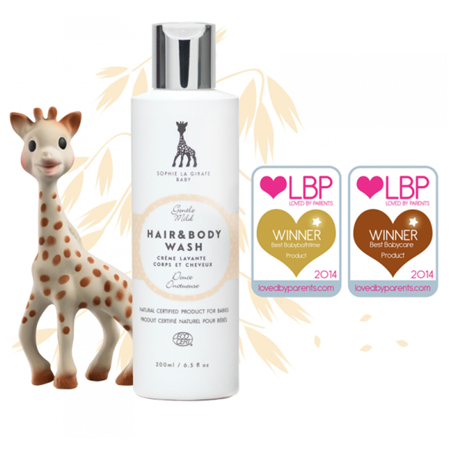 Picture of Sophie la Girafe® Baby Natural Hair Brush Set