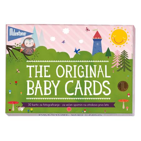 Milestone® Kartice za fotografiranje Baby (SLO)