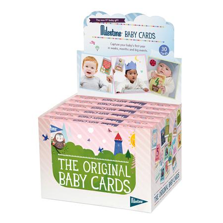 Slika Milestone® Kartice za fotografiranje Baby (SLO)