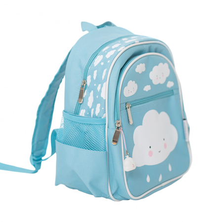 Picture of A Little Lovely Company® Backpack Blue Cloud