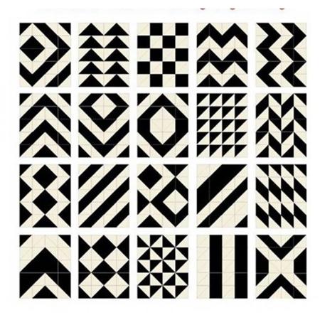 Immagine di Skip Hop® Tappeto gioco puzzle Black/Cream