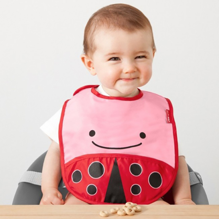 Picture of Skip Hop® Tuck-Away Bib Ladybug