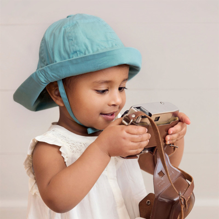 Picture of Elodie Details® Sun Hat Pretty Petrol