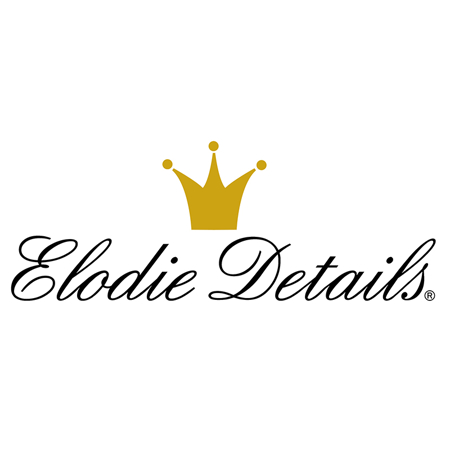 Picture of Elodie Details®  Pacifier Clip Powder Pink