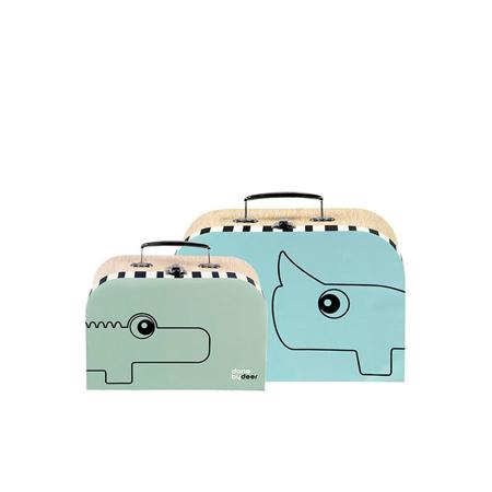 Immagine di Done by Deer® Set mini valigie
