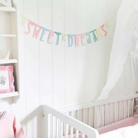 Picture of A Little Lovely Company® Letter Banner Pastel