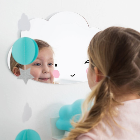 Slika A Little Lovely Company® Ogledalo Oblaček