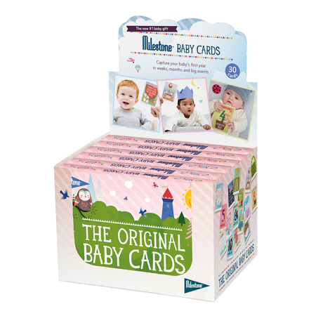 Milestone® Kartice za fotografiranje Baby (ANG)
