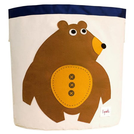 3Sprouts® Koš za igrače Medvedek
