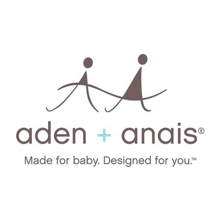 Aden+Anais® Komplet 3 povijalnih pleničk Metallic Silver Deco 120x120