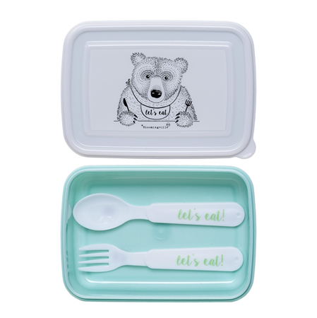 Picture of Bloomingville® Snack Box With Cutlery