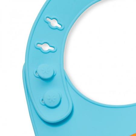 Slika Skip Hop® Silikonski slinček Kuža