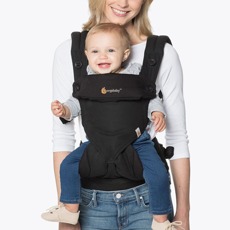 Picture of Ergobaby® 360 Baby Carrier All Carry Positions - Pure Black