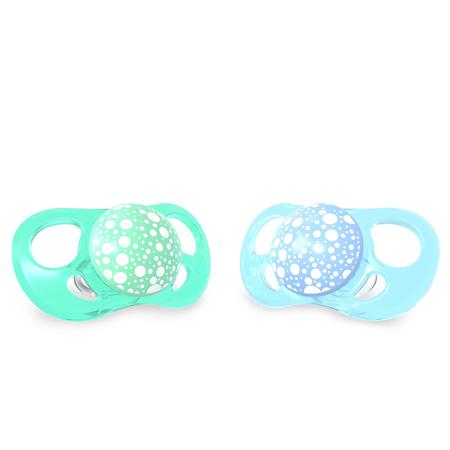 Twistshake® 2x Duda Pastel Blue&Green (0+/6+)