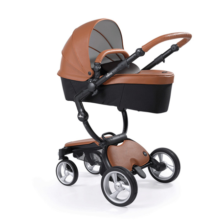 Mima® Otroški voziček s košaro 2v1 Xari Camel