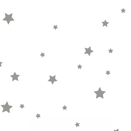 Picture of Pick Art Design® Wall Sticker Grey Stars