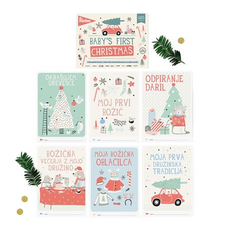 Slika Milestone® Knjižica za posebne priložnosti Prvi božič