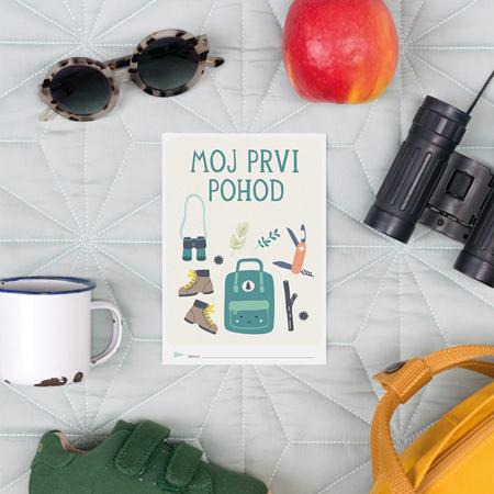 Milestone® Knjižica za posebne priložnosti Prvi trenutki na prostem