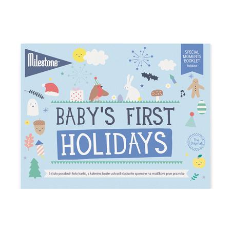 Milestone® Knjižica za posebne priložnosti Prvi prazniki