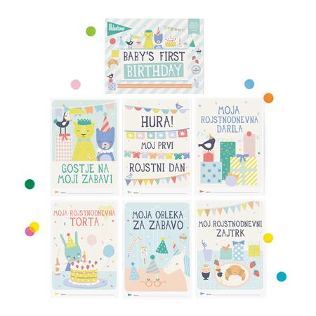 Immagine di Milestone® Knjižica za posebne priložnosti Prvi rojstni dan