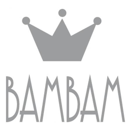 Slika BamBam® Lesene črke Sive