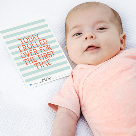 Immagine di Milestone® Baby cards Cotton Candy limited edition (ENG)