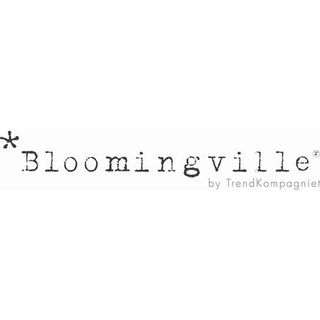 Bloomingville® Bombažna košara za igrače Črna