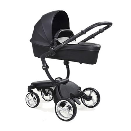 Mima® Otroški voziček s košaro 2v1  Xari Black