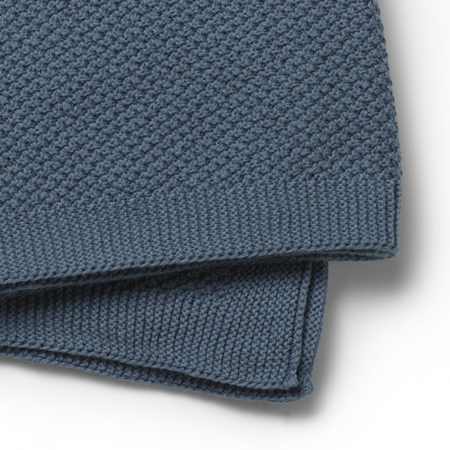 Slika Elodie Details® Mehka pletena odejica Tender Blue 70x100