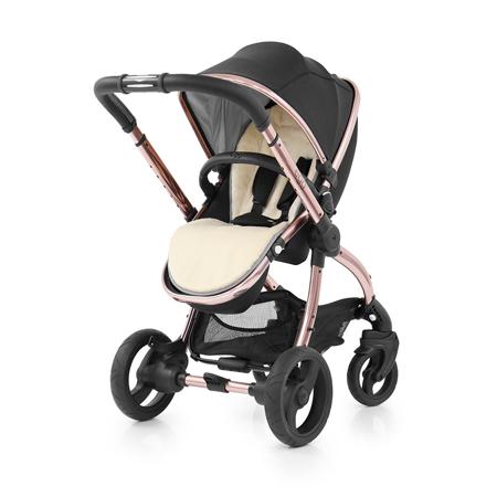 Slika Egg by BabyStyle® Otroški voziček Rose Gold Diamond Black