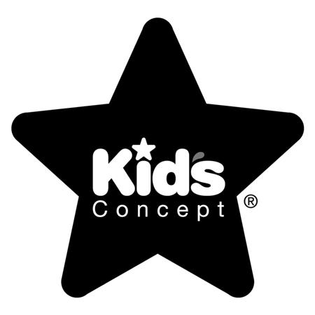 Slika Kids Concept® Leseni stenski obešalnik Star Grey