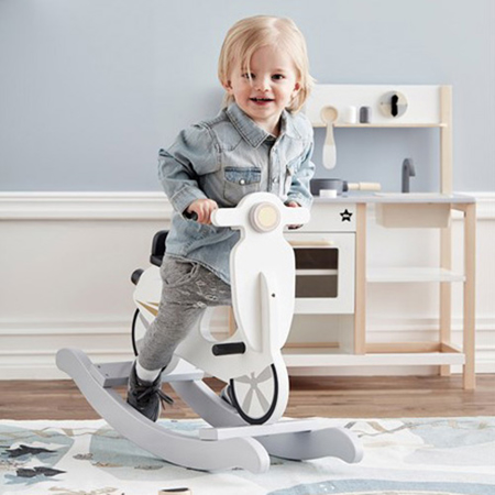 Picture of Kids Concept® Rocking Scooter Grey