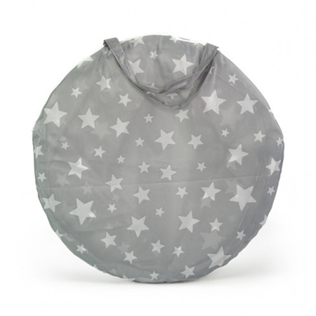 Picture of Kids Concept® Play Tunnel Star Grey