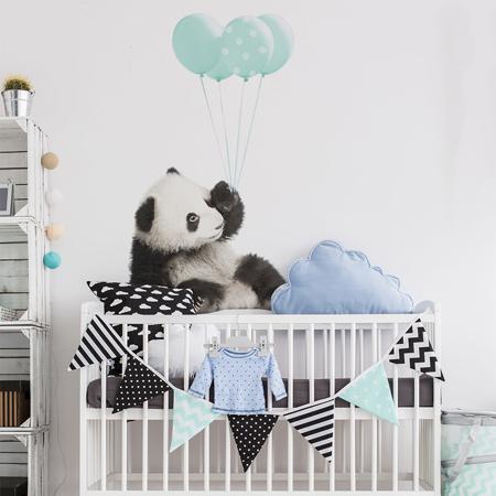 Immagine di Dekornik® Adesivo parete Minty Panda