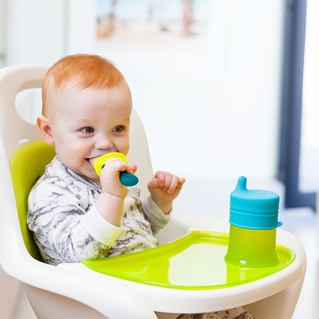 Boon® Pripomoček za hranjenje Pulp Moder/Zelen