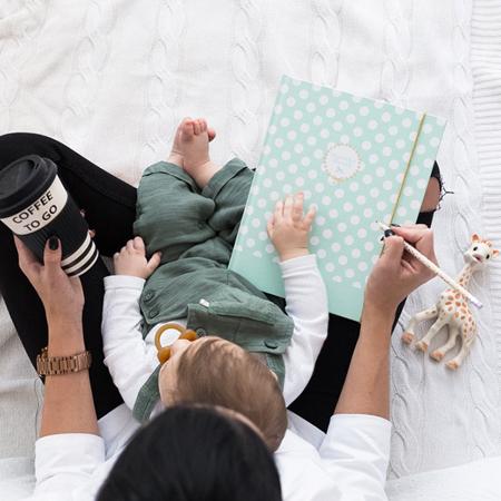 Slika Z ljubeznijo, Mama® Dojenčkov dnevnik Mint
