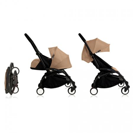Babyzen® YOYO Otroški voziček 2v1 0+ Taupe White Frame