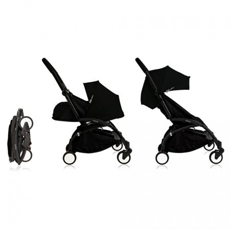 Babyzen® YOYO Otroški voziček 6+ Black Black Frame
