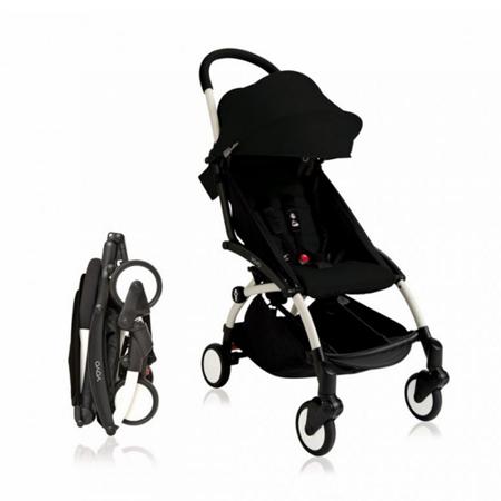 Babyzen® YOYO+ Otroški voziček 6+ Black White Frame