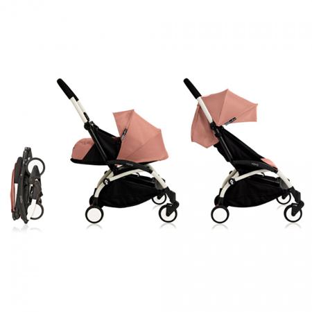 Babyzen® YOYO+ Otroški voziček 6+ Ginger White Frame