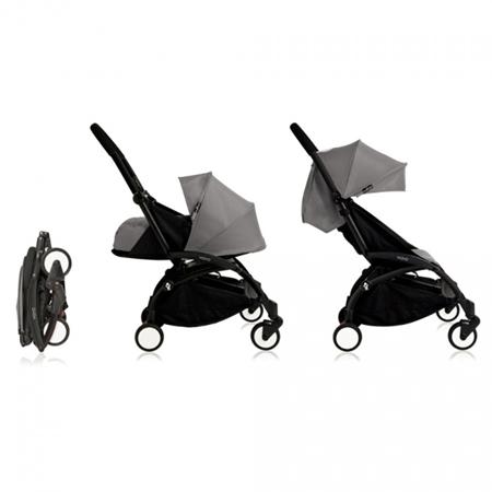 Babyzen® YOYO+ Otroški voziček 6+ Grey Black Frame