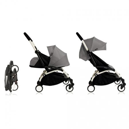Babyzen® YOYO+ Otroški voziček 6+ Grey White Frame