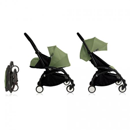 Immagine di Babyzen® YOYO+ Passeggino per bambini 6+ Peppermint Black Frame
