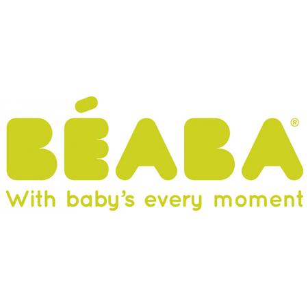 Slika Beaba® Steklenička iz stekla Stars Blue 110ml
