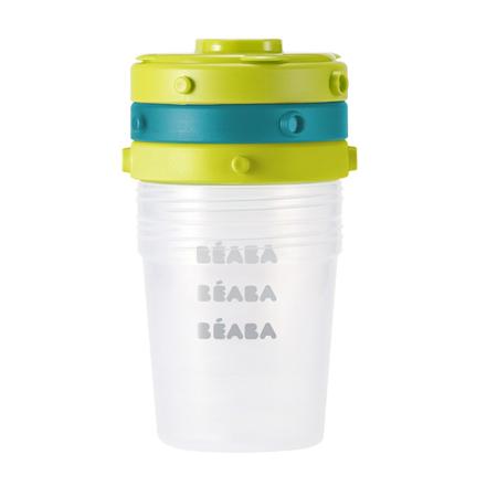 Beaba® Set 6 posodic za shranjevanje hrane 6 x 200ml