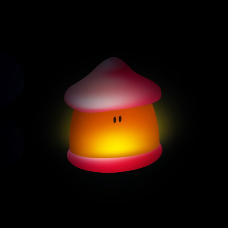 Beaba® Nočna lučka Pixie Soft Coral Red
