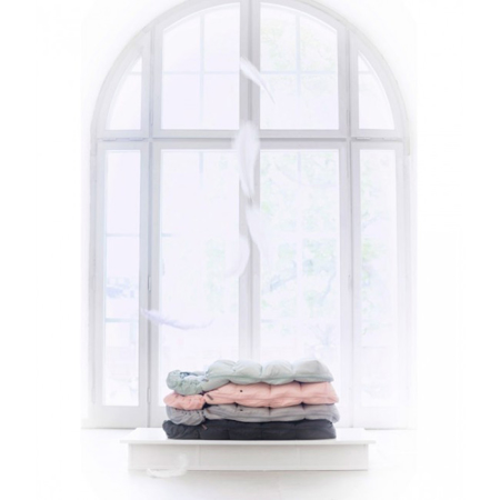 Slika Elodie Details® Zimska Vreča s perjem Mineral Green