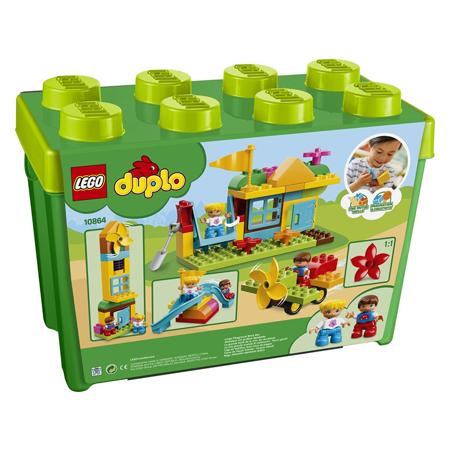 Slika Lego® Duplo Moje prvo veliko igrišče v škatli s kockami