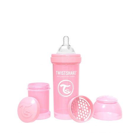 Twistshake® Steklenička Anti-Colic 260ml Pastel (2+m)